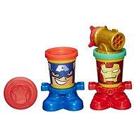 Play-Doh - förmigen Tassen Helden Marvel - Kreativset