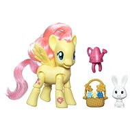 My Little Pony - Pony Fluttershy with a friend and Supplies