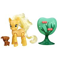 My Little Pony - Pony Applejack with a friend and Supplies