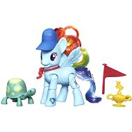 My Little Pony - Pony Rainbow Dash with a friend and Supplies