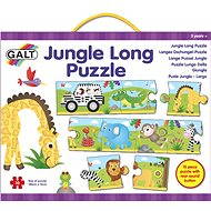 Dlhé podlahové puzzle - Džungľa