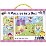 4 Puzzles in a Box - Fairies - Puzzle