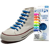 Shoeps - Navy blue silicone laces