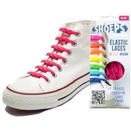 Shoeps - Silicon fuchsia pink laces