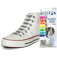 Shoeps - Silicone laces XL silver