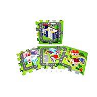Pěnové puzzle - Město - Puzzle