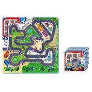 Pěnové puzzle - Závodní dráha
