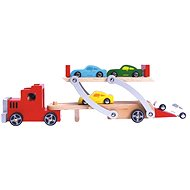 Tractor with car 9 pcs