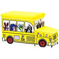 Bino Mole - Boxes for toy bus - Kids' Bedroom Decoration