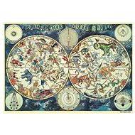 Astrologická mapa 500 dielikov