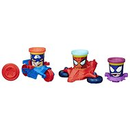 Play-Doh - cups in the shape of heroes