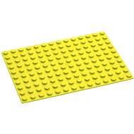 Hubelino Kuličková dráha - Podložka na stavění 140 žlutá - Stavebnice