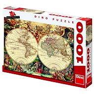 Historische Karte 1000 Stück