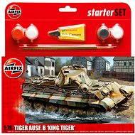 AirFix Starter set A55303 tank – Tiger ausf.B 'King Tiger' - Plastový model