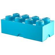 LEGO Úložný box 8 250 x 500 x 180 mm - azúrový