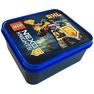LEGO Nexo Knight Box na desiatu - modrý