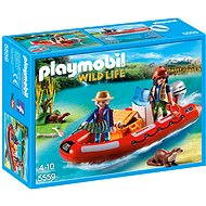 Playmobil 5559 Dinghy with poachers - Building Kit