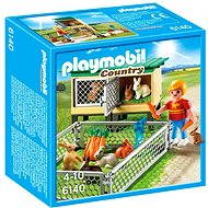 Playmobil 6140 hutch with outdoor enclosure