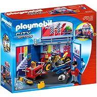 Playmobil 6157 Closed box biker's garage