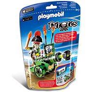 PLAYMOBIL® 6162 Green Interactive Cannon with Pirate Captain