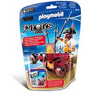 PLAYMOBIL® 6163 Red Interactive Cannon with Buccaneer