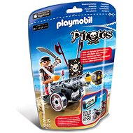 PLAYMOBIL® 6165 Black Interactive Cannon with Raider