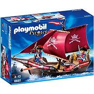 Playmobil 6681 ship military guard with gun