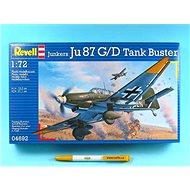 Revell Modellbausatz 04692 Flugzeuge - Junker Ju87 G / D Tank Buster - Platikmodel