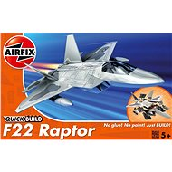 AirFix Quick Build letadlo J6005 - Lockheed Martin Raptor