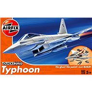 AirFix Quick Build J6002 letadlo – Eurofighter Typhoon - Plastový model