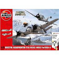AirFix Gift Set letadlo A50171 - Dogfight Double Beaufighter / FW190A-8