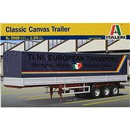 Italeri Model Kit 3908 semitrailer - Classic Canvas Trailer - Plastic Model