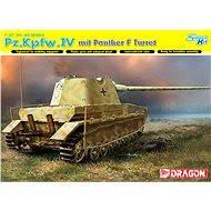 Dragon Smart Kit 6824 tank – Pz.Kpfw.IV mit Panther F Turret - Plastový model