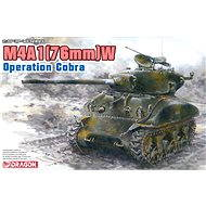 Dragon Model Kit 6083 Tank - M4A1 (76mm) W Operation Cobra - Plastic Model