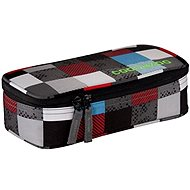 Coenzyme Pencil Denzel Checkmate Blue Red - Pencil Case