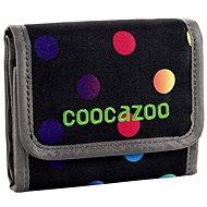CoocaZoo CashDash Magie Bunte Polka - Brieftasche