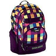 CoocaZoo CarryLarry2 Melange A Trois Pink - Školní batoh