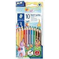 "Colored pencils ""Noris Club Jumbo"" set of 10 colours - Stationery Set"