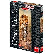 Dino Leopard z Keni panoramatic - Puzzle