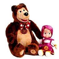 Máša a medvěd - Souprava se zvukem - Plyšová hračka