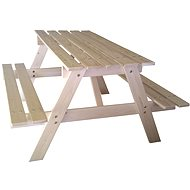 Cubs - Children's wooden picnic table large