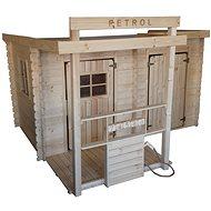 Dětské dřevěný domek CUBS - Petrol