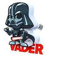3D Mini svetlo Star Wars Darth Vader - Osvetlenie do detskej izby