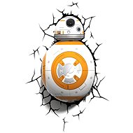 3D Svetlo Star Wars BB-8