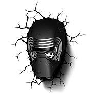 3D Světlo Star Wars Kylo Renova helma - Osvětlení do dětského pokoje