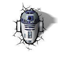 3D Světlo Star Wars R2D2 - Osvětlení do dětského pokoje