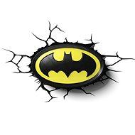 3D Světlo Batman Logo - Osvětlení do dětského pokoje