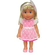 Doll Adélka with a handbag and ribbon