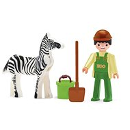 Igráček - Die Krankenschwester und Zebra - Spielset