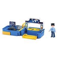 Igráček Handy - Polizeistation mit einem Polizeibeamten - Spielset